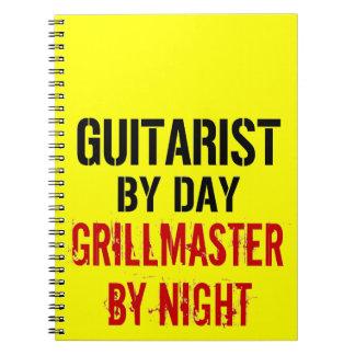 Guitarist Grillmaster Note Book