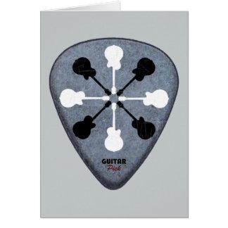 guitarist ideas card