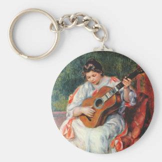 Guitarist Keychain