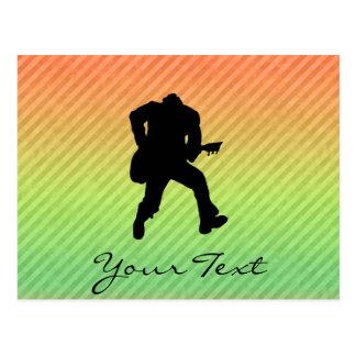 Guitarist Postcard
