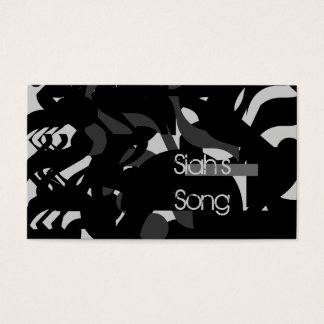Guitarist-Singer-Composer Business Card