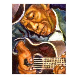 Guitarman Postcard