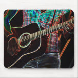 Guitars 1 mouse pad