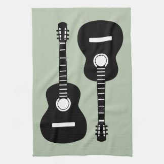 Guitars Kitchen Towel