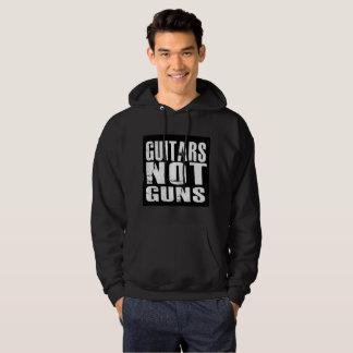 Guitars Not Guns Basic Pullover Hoodie