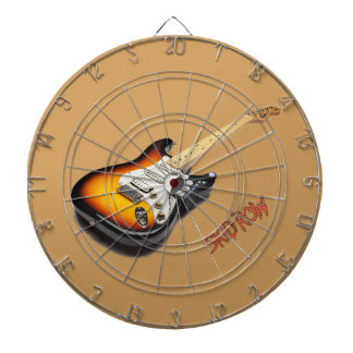 GuitarWing Skid Row Poster Small Dartboard With Darts