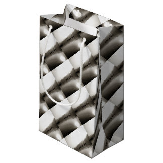 Gulets In Greyscale Small Gift Bag