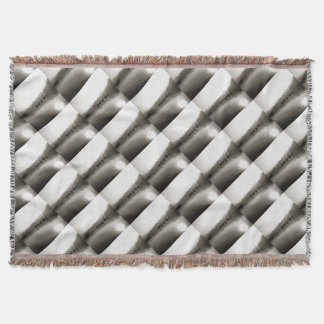 Gulets In Greyscale Throw Blanket
