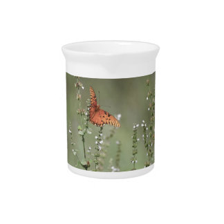 Gulf Fritillary Butterfly Pitcher