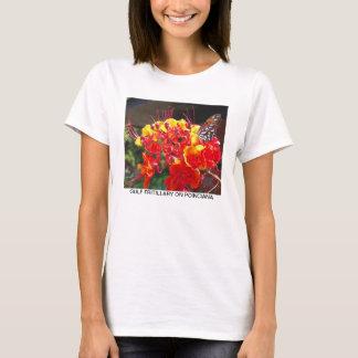 GULF FRITILLARY ON POINCIANA T-Shirt