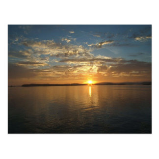 Gulf of Alaska Sunset Postcard