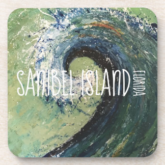 Gulf of Mexico Art - Sanibel Island Coaster