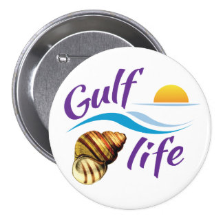 Gulf (of Mexico) Life Button