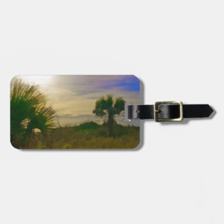Gulf of Mexico View Caspersen Beach Luggage Tag