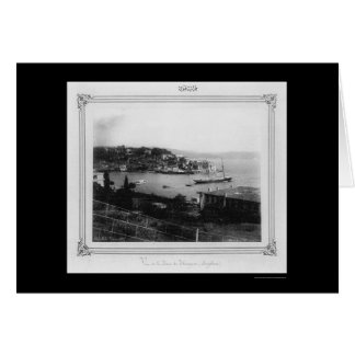 Gulf of Tarabya Istanbul, Turkey 1885 Card