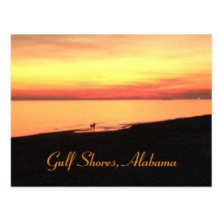 Gulf Shores Alabama postcard