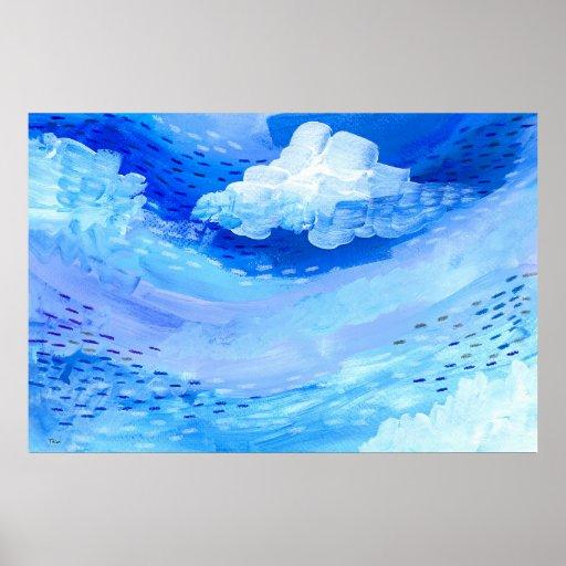 Gulf Stream Blues Poster