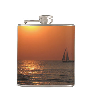 Gulf Sunset Flasks