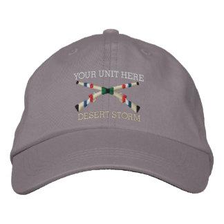 Gulf War Infantry Crossed Rifle Hat Baseball Cap