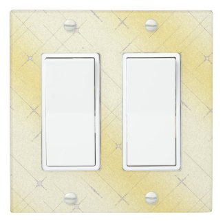 Gulfoss Yellow Light Switch Cover