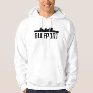 Gulfport Mississippi City Skyline Hoodie