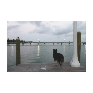 Gulfport Pier 1 Canvas Print