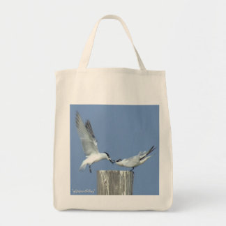 Gull Couple Earth friendly grocery tote