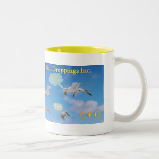 Gull Droppings Inc CEO Two-Tone Coffee Mug
