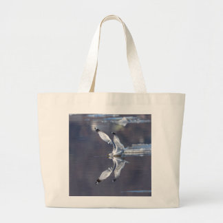 Gull Reflections Large Tote Bag
