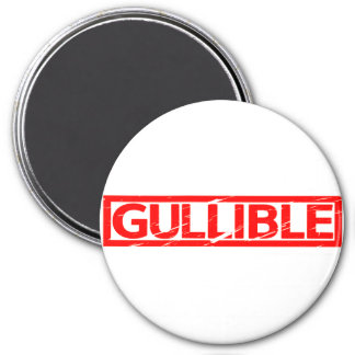 Gullible Stamp Magnet