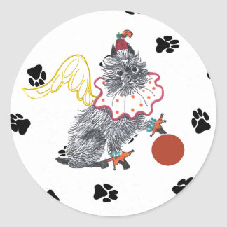 Gulliver's Angels Affenpinscher Sticker