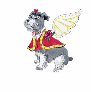 Gulliver's Angels Schnauzer Ornament Photo Sculpture Ornament
