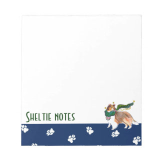 Gulliver's Angels Sheltie Notepad