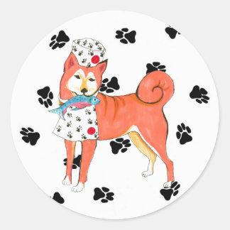 Gullivers Angels Shiba Inu Stickers