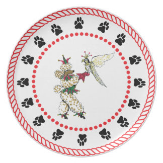 Gulliver's Angels Sinatra and Falcon Dinner Plate