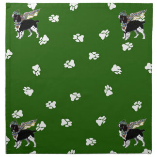 Gulliver's Angels Springer Spaniel Dinner Napkin