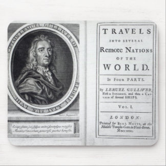 'Gulliver's Travels' by Jonathan Swift, 1726 Mouse Pad