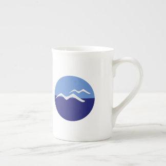 Gulls / Bone China Mug
