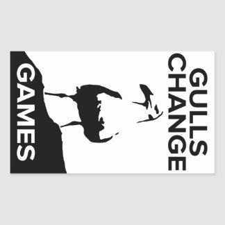 Gulls Change Games stickers (sheet of 4)