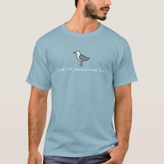 Gulls Just Wanna Have Fun Shirt - Dark Colors