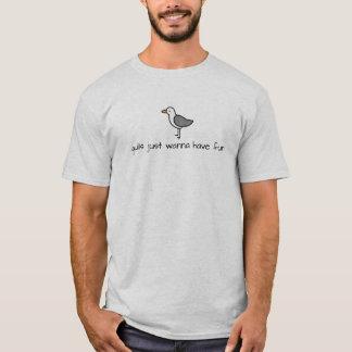 Gulls Just Wanna Have Fun Shirt - Light Colors