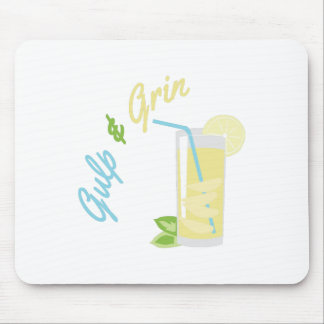 Gulp & Grin Mouse Pads