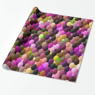 Gum balls... wrapping paper