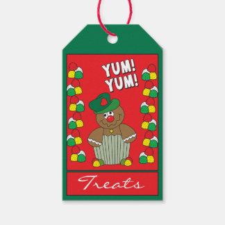 Gum Drop Gingerbread Man Gift Tags