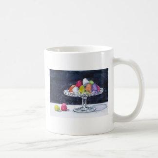 Gum Drops Candy in Bowl Mug