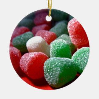 Gum Drops Ceramic Ornament