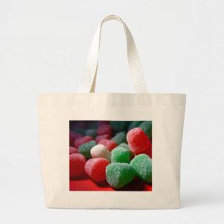 Gum Drops Large Tote Bag