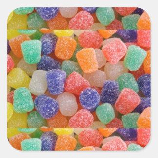 Gum Drops Square Sticker