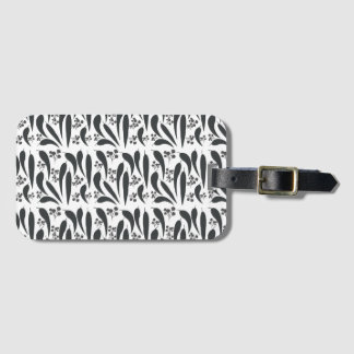 Gum Leaves and Gumnuts Luggage Tag