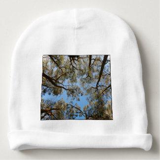 Gum Trees against a Blue sky Baby Beanie